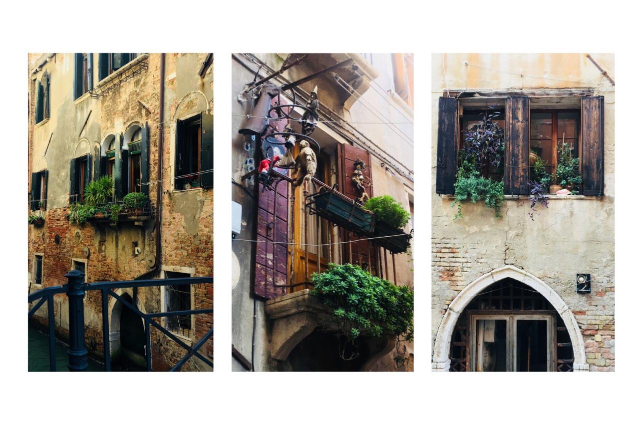 balkon we włoskim stylu