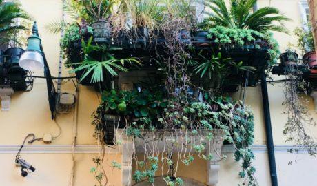 balkon srodziemnomorski styl wloski