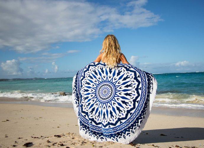 najpiękniejsze maty plażowe