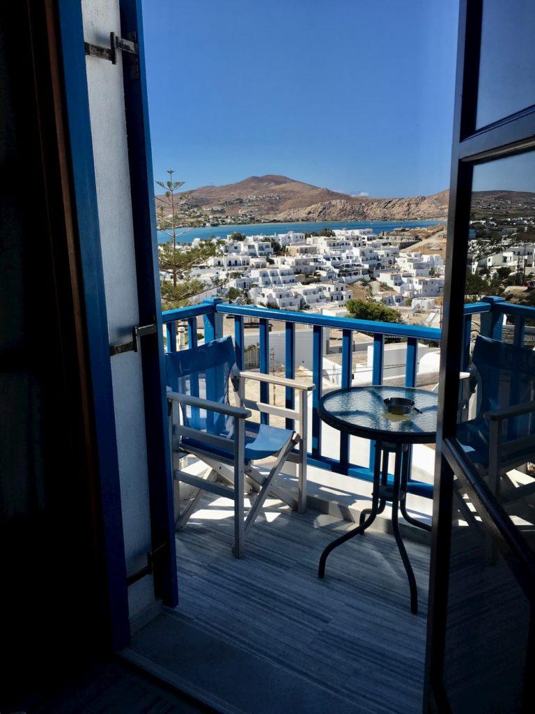 hotel na wyspie paros