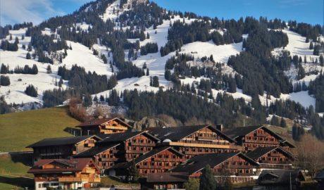 alpejska wioska