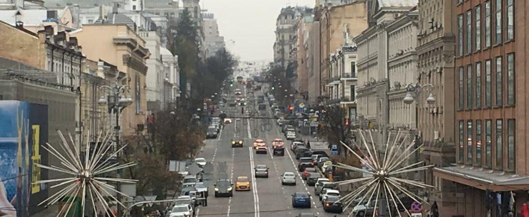 ulica w kijowie