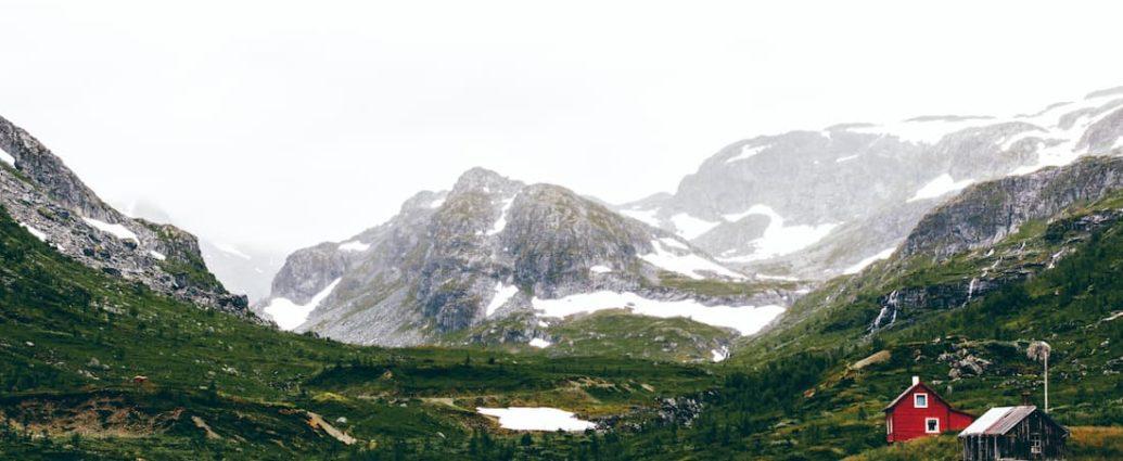 góry w Norwegii