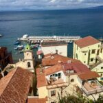 Sorrento wybrzeże włoskie